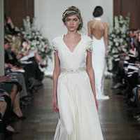 Wedding Dresses, Romantic Wedding Dresses, Fashion, Boho Chic Weddings, V-neck Wedding Dresses, Jenny packham
