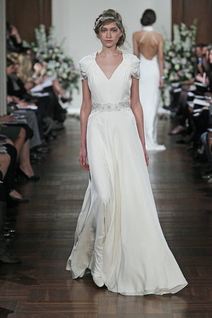 Wedding Dresses, Romantic Wedding Dresses, Fashion, Boho Chic Weddings, V-neck Wedding Dresses, Jenny packham