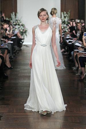 Wedding Dresses, Vintage Wedding Dresses, Fashion, Glam Weddings, Vintage Weddings, V-neck Wedding Dresses, Jenny packham, Art Deco Weddings