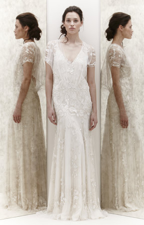 Wedding Dresses, Romantic Wedding Dresses, Vintage Wedding Dresses, Fashion, Spring Weddings, Boho Chic Weddings, Vintage Weddings, V-neck Wedding Dresses, Jenny packham, Art Deco Weddings