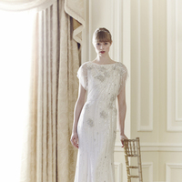 Wedding Dresses, Vintage Wedding Dresses, Hollywood Glam Wedding Dresses, Fashion, silver, Glam Weddings, Vintage Weddings, Jenny packham, Art Deco Weddings