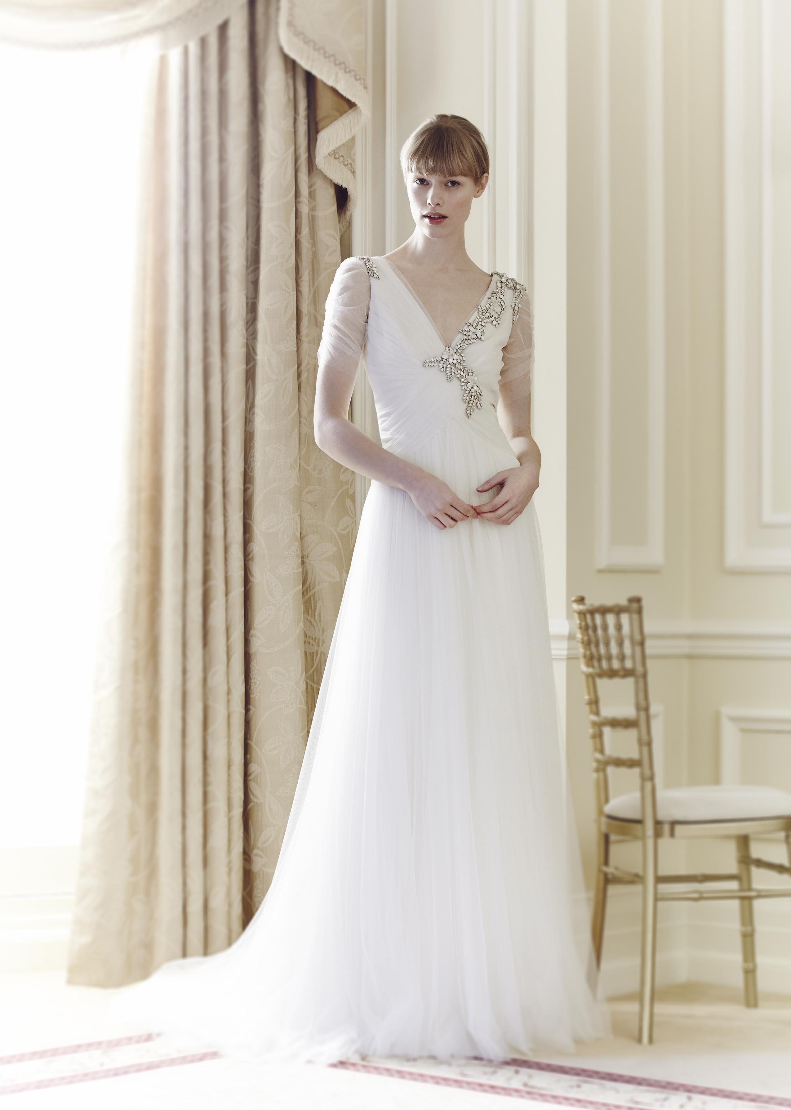 Wedding Dresses, Romantic Wedding Dresses, Vintage Wedding Dresses, Hollywood Glam Wedding Dresses, Fashion, Winter Weddings, Glam Weddings, Jenny packham, Wedding Dresses with Sleeves, Art Deco Weddings