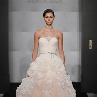Wedding Dresses, Ball Gown Wedding Dresses, Ruffled Wedding Dresses, Romantic Wedding Dresses, Fashion, pink, Spring Weddings, Mark zunino