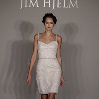 Wedding Dresses, Fashion, Jim hjelm, Short Wedding Dresses, Beaded Wedding Dresses