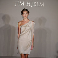 Bridesmaids Dresses, Wedding Dresses, One-Shoulder Wedding Dresses, Fashion, ivory, Jim hjelm