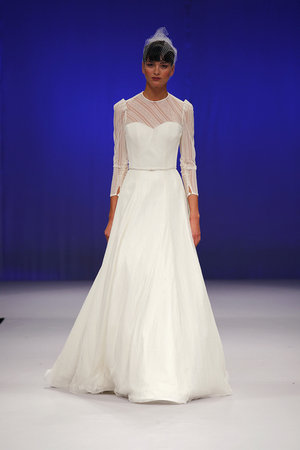 Wedding Dresses, A-line Wedding Dresses, Vintage Wedding Dresses, Traditional Wedding Dresses, Fashion, Classic Weddings, Junko yoshioka, Wedding Dresses with Sleeves