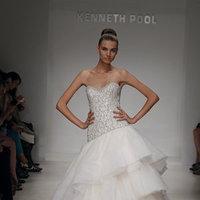 Wedding Dresses, Sweetheart Wedding Dresses, A-line Wedding Dresses, Ruffled Wedding Dresses, Hollywood Glam Wedding Dresses, Fashion, Glam Weddings, Kenneth pool