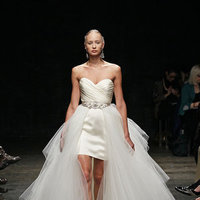 Wedding Dresses, Sweetheart Wedding Dresses, Hollywood Glam Wedding Dresses, Fashion, Glam Weddings, Modern Weddings, Lazaro, Short Wedding Dresses