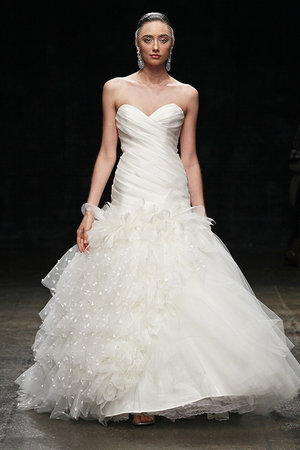Wedding Dresses, Sweetheart Wedding Dresses, Ruffled Wedding Dresses, Fashion, Spring Weddings, Lazaro