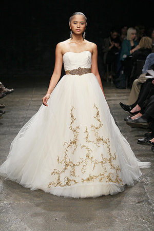 Wedding Dresses, Ball Gown Wedding Dresses, Traditional Wedding Dresses, Fashion, gold, Classic Weddings, Lazaro