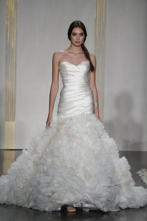 Wedding Dresses, Sweetheart Wedding Dresses, Ruffled Wedding Dresses, Fashion, Lazaro