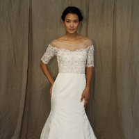 Wedding Dresses, Illusion Neckline Wedding Dresses, Mermaid Wedding Dresses, Fashion, Lela rose, Wedding Dresses with Sleeves