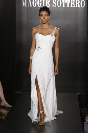 Wedding Dresses, One-Shoulder Wedding Dresses, Hollywood Glam Wedding Dresses, Fashion, Glam Weddings, Maggie Sottero