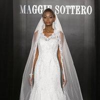 Wedding Dresses, Mermaid Wedding Dresses, Lace Wedding Dresses, Romantic Wedding Dresses, Fashion, Spring Weddings, Garden Weddings, V-neck Wedding Dresses, Maggie Sottero