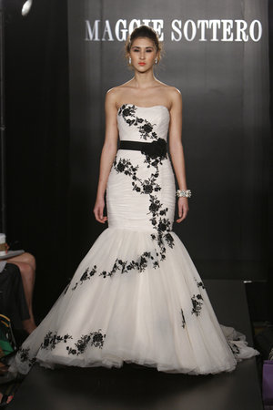 Wedding Dresses, Mermaid Wedding Dresses, Fashion, black, Modern Weddings, Maggie Sottero