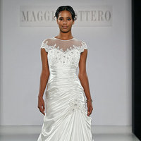 Wedding Dresses, Illusion Neckline Wedding Dresses, Mermaid Wedding Dresses, Hollywood Glam Wedding Dresses, Fashion, Glam Weddings, Maggie Sottero