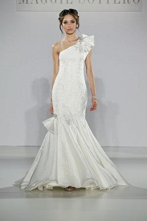 Wedding Dresses, One-Shoulder Wedding Dresses, Mermaid Wedding Dresses, Lace Wedding Dresses, Hollywood Glam Wedding Dresses, Fashion, Glam Weddings, Modern Weddings, Maggie Sottero