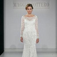 Wedding Dresses, Illusion Neckline Wedding Dresses, Lace Wedding Dresses, Romantic Wedding Dresses, Fashion, Boho Chic Weddings, Maggie Sottero, Wedding Dresses with Sleeves