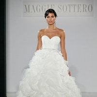 Wedding Dresses, Sweetheart Wedding Dresses, Ball Gown Wedding Dresses, Ruffled Wedding Dresses, Romantic Wedding Dresses, Fashion, Maggie Sottero
