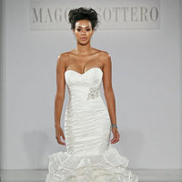 Wedding Dresses, Sweetheart Wedding Dresses, Mermaid Wedding Dresses, Ruffled Wedding Dresses, Hollywood Glam Wedding Dresses, Fashion, Glam Weddings, Maggie Sottero