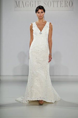 Wedding Dresses, Lace Wedding Dresses, Romantic Wedding Dresses, Fashion, V-neck Wedding Dresses, Maggie Sottero