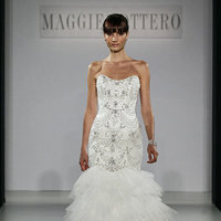 Wedding Dresses, Mermaid Wedding Dresses, Ruffled Wedding Dresses, Hollywood Glam Wedding Dresses, Fashion, Glam Weddings, Maggie Sottero