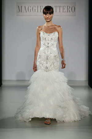 Wedding Dresses, Mermaid Wedding Dresses, Ruffled Wedding Dresses, Hollywood Glam Wedding Dresses, Fashion, Glam Weddings, Maggie Sottero