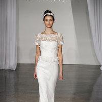 Wedding Dresses, Illusion Neckline Wedding Dresses, Lace Wedding Dresses, Romantic Wedding Dresses, Fashion, Spring Weddings, Garden Weddings, Marchesa, Wedding Dresses with Sleeves