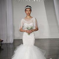 Wedding Dresses, Illusion Neckline Wedding Dresses, Mermaid Wedding Dresses, Romantic Wedding Dresses, Fashion, Marchesa
