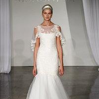 Wedding Dresses, Illusion Neckline Wedding Dresses, Mermaid Wedding Dresses, Lace Wedding Dresses, Romantic Wedding Dresses, Fashion, Spring Weddings, Garden Weddings, Marchesa