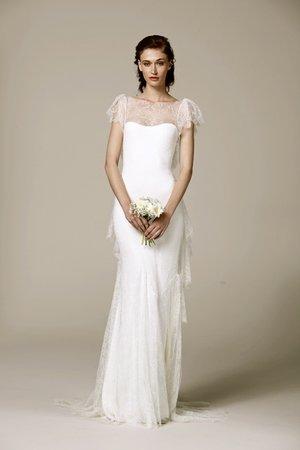 Wedding Dresses, Illusion Neckline Wedding Dresses, Lace Wedding Dresses, Romantic Wedding Dresses, Fashion, Spring Weddings, Boho Chic Weddings, Garden Weddings, Marchesa