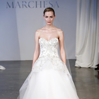 Wedding Dresses, Sweetheart Wedding Dresses, Ball Gown Wedding Dresses, Fashion, white, Winter Weddings, Classic Weddings, Marchesa