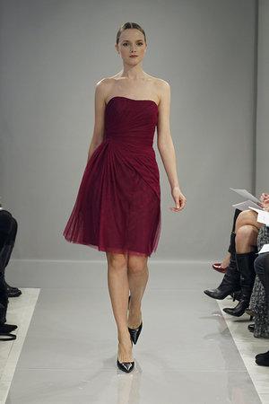 Bridesmaids Dresses, Fashion, red