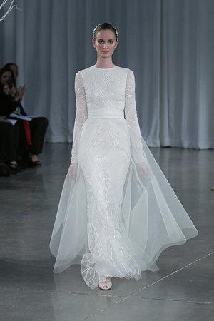 Wedding Dresses, Mermaid Wedding Dresses, Lace Wedding Dresses, Romantic Wedding Dresses, Vintage Wedding Dresses, Fashion, Winter Weddings, Monique lhuillier, Wedding Dresses with Sleeves