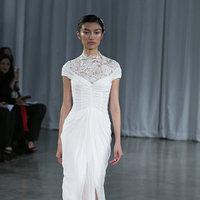 Wedding Dresses, Illusion Neckline Wedding Dresses, Romantic Wedding Dresses, Fashion, Garden Weddings, Monique lhuillier