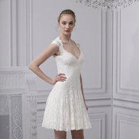 Wedding Dresses, Lace Wedding Dresses, Vintage Wedding Dresses, Fashion, Vintage Weddings, Monique lhuillier, Short Wedding Dresses