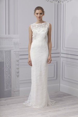 Wedding Dresses, Illusion Neckline Wedding Dresses, Lace Wedding Dresses, Romantic Wedding Dresses, Fashion, Spring Weddings, Boho Chic Weddings, Garden Weddings, Monique lhuillier