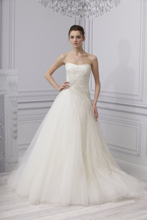Wedding Dresses, Ball Gown Wedding Dresses, Traditional Wedding Dresses, Fashion, Classic Weddings, Strapless Wedding Dresses, Monique lhuillier