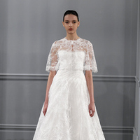 Wedding Dresses, Lace Wedding Dresses, Vintage Wedding Dresses, Fashion, white, Vintage Weddings, Monique lhuillier, Wedding Dresses with Jackets, Tea Length Wedding Dresses
