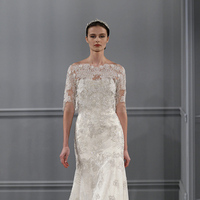 Wedding Dresses, Illusion Neckline Wedding Dresses, Lace Wedding Dresses, Vintage Wedding Dresses, Fashion, silver, Glam Weddings, Vintage Weddings, Monique lhuillier, Wedding Dresses with Sleeves, Off the Shoulder Wedding Dresses