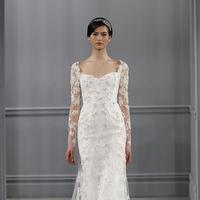 Wedding Dresses, Sweetheart Wedding Dresses, Mermaid Wedding Dresses, Lace Wedding Dresses, Traditional Wedding Dresses, Fashion, white, Monique lhuillier, Wedding Dresses with Sleeves