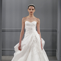 Wedding Dresses, Sweetheart Wedding Dresses, A-line Wedding Dresses, Romantic Wedding Dresses, Traditional Wedding Dresses, Fashion, white, Classic Weddings, Monique lhuillier