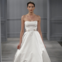 Wedding Dresses, A-line Wedding Dresses, Traditional Wedding Dresses, Fashion, Classic Weddings, Strapless Wedding Dresses, Monique lhuillier
