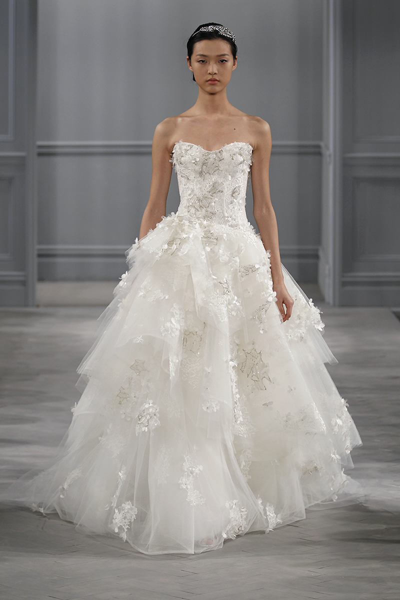 Wedding Dresses, Sweetheart Wedding Dresses, Ball Gown Wedding Dresses, Ruffled Wedding Dresses, Traditional Wedding Dresses, Fashion, Classic Weddings, Monique lhuillier