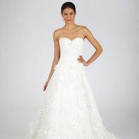 Wedding Dresses, Sweetheart Wedding Dresses, A-line Wedding Dresses, Ruffled Wedding Dresses, Oscar de la renta