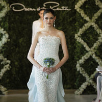 Wedding Dresses, Lace Wedding Dresses, Romantic Wedding Dresses, Fashion, blue, Oscar de la renta