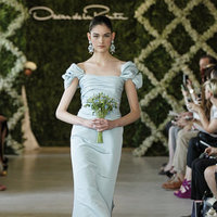 Wedding Dresses, Fashion, green, Modern Weddings, Oscar de la renta