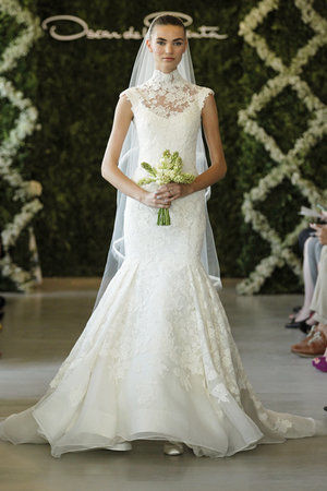 Wedding Dresses, Illusion Neckline Wedding Dresses, Mermaid Wedding Dresses, Lace Wedding Dresses, Romantic Wedding Dresses, Fashion, Oscar de la renta