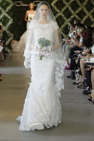 Wedding Dresses, Illusion Neckline Wedding Dresses, Lace Wedding Dresses, Romantic Wedding Dresses, Vintage Wedding Dresses, Fashion, Oscar de la renta