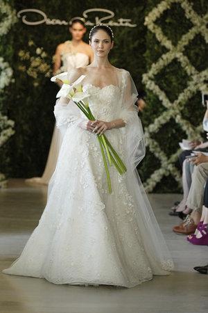 Wedding Dresses, Sweetheart Wedding Dresses, Romantic Wedding Dresses, Fashion, Oscar de la renta